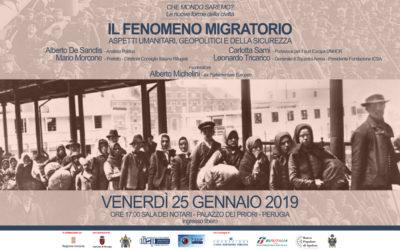 """""""Il fenomeno migratorio"""": i relatori"""